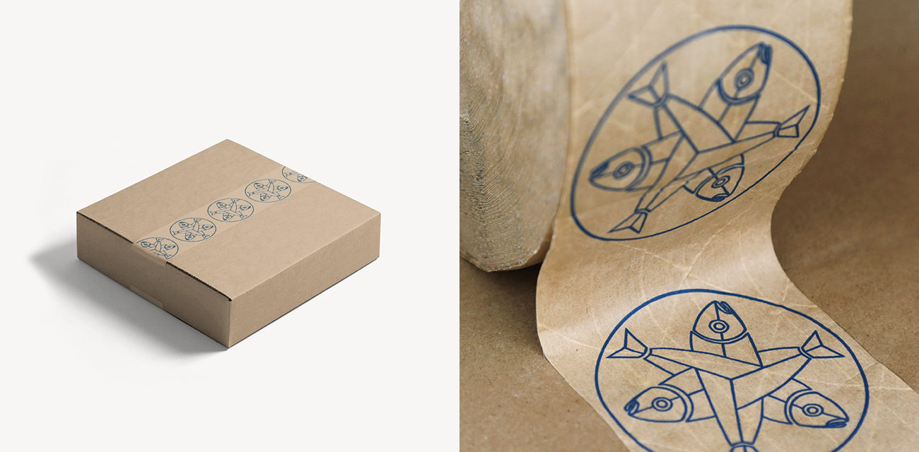 Design: Salmon Sisters A Practical Guide to Designing Packing Tape