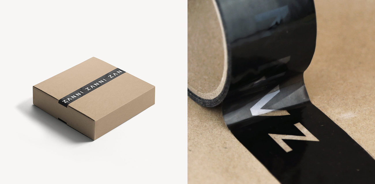 Design: ZANNI A Practical Guide to Designing Packing Tape