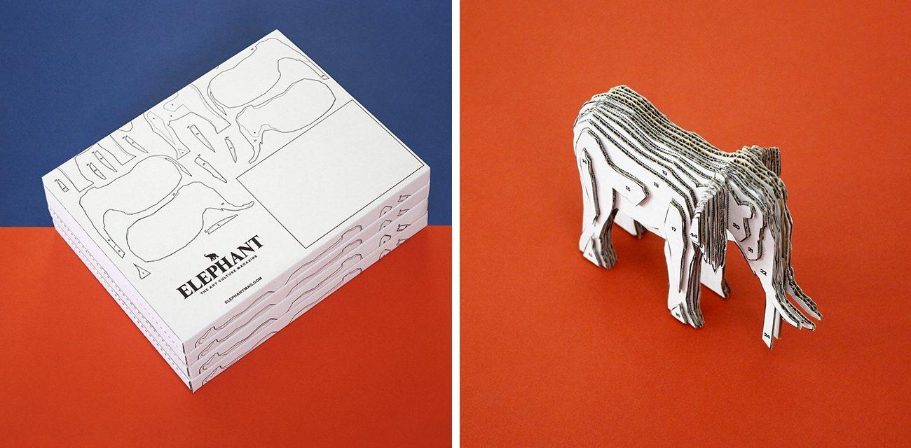 Elephant Magazine by Kind Studio 7 Headline-Worthy Book Mailer Designs
