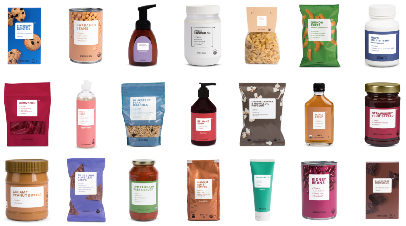 Unbranding Your Pantry