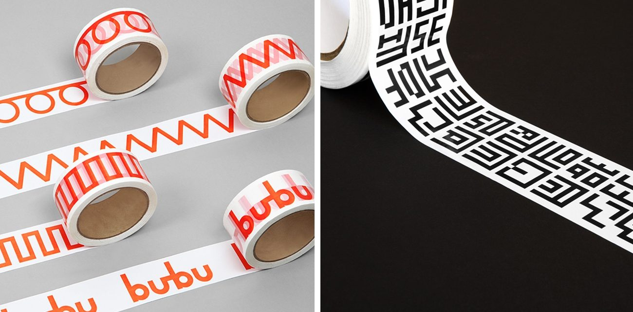 Bubu by Bob Design, MIT Media Lab by Pentagram White Packing Tape That's Anything But Vanilla