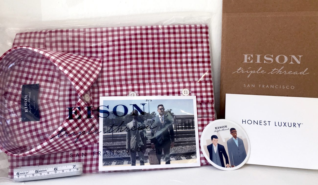 'Eison Triple Thread' Designs Luxury Packaging for a Whole New Way to Buy Suits