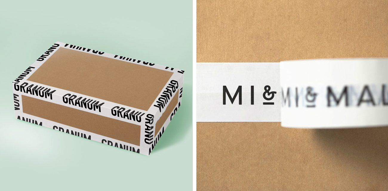 Granum byMax Arbuzov, Mi & Mall by Atipo White Packing Tape That's Anything But Vanilla