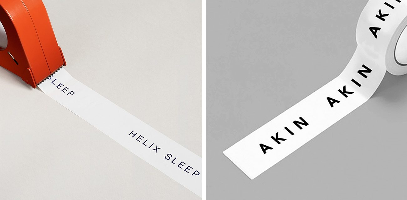 Helix Sleep by High Tide, Akin by Alphabet White Packing Tape That's Anything But Vanilla