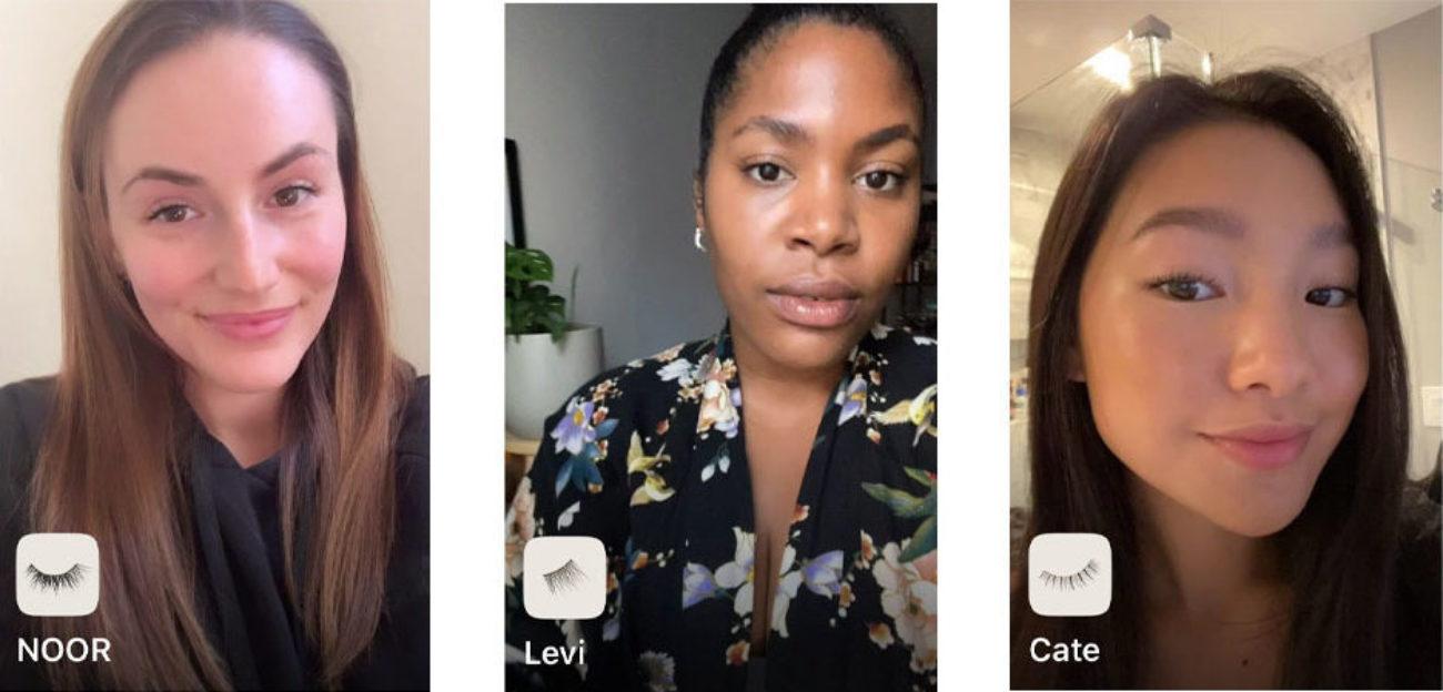 Loveseen's AR Instagram filter. Testing the edges