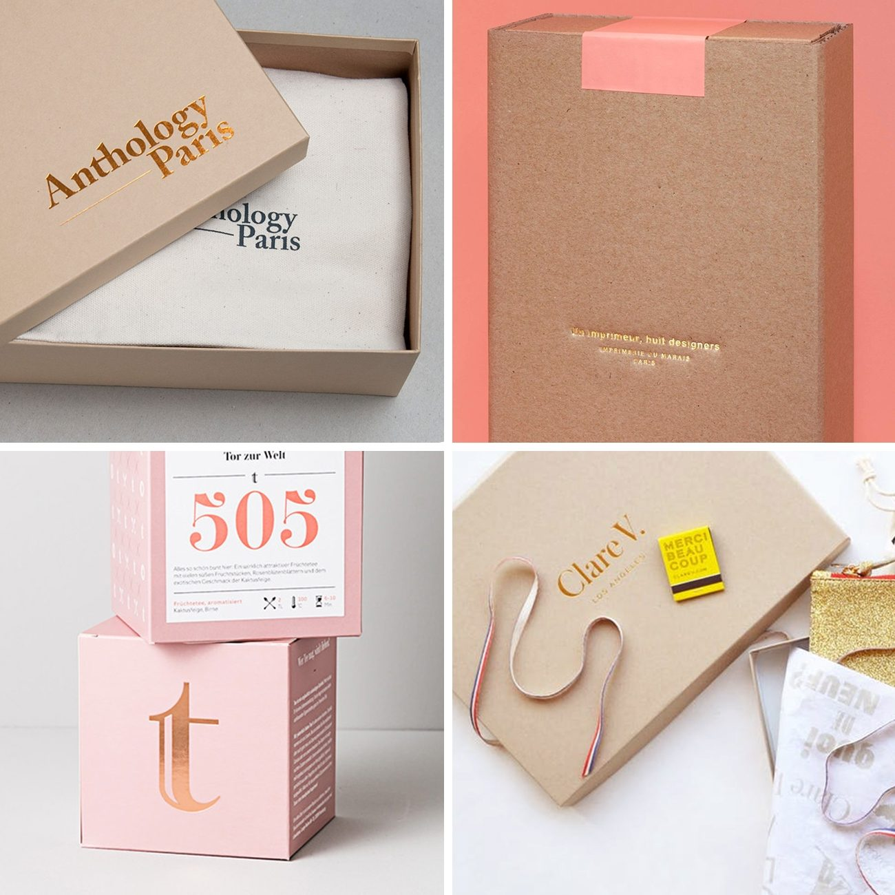 Photos via: Parametro Studio, Studio Plastac, —, Braeutigam Rotermund, Clare V 60 Ideas to Spruce Up Your Holiday Packaging Design