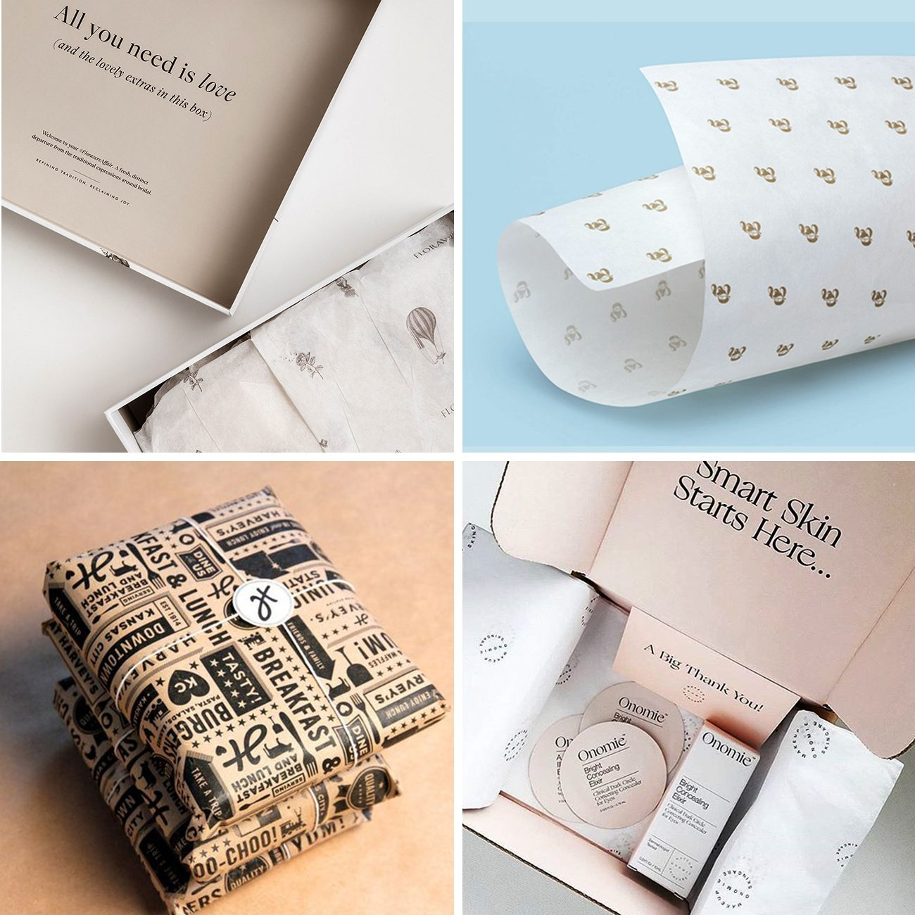 Photos via: Koia Studio, Marie Zieger, We Are Mucho, Carpenter Collective, Homework 60 Ideas to Spruce Up Your Holiday Packaging Design