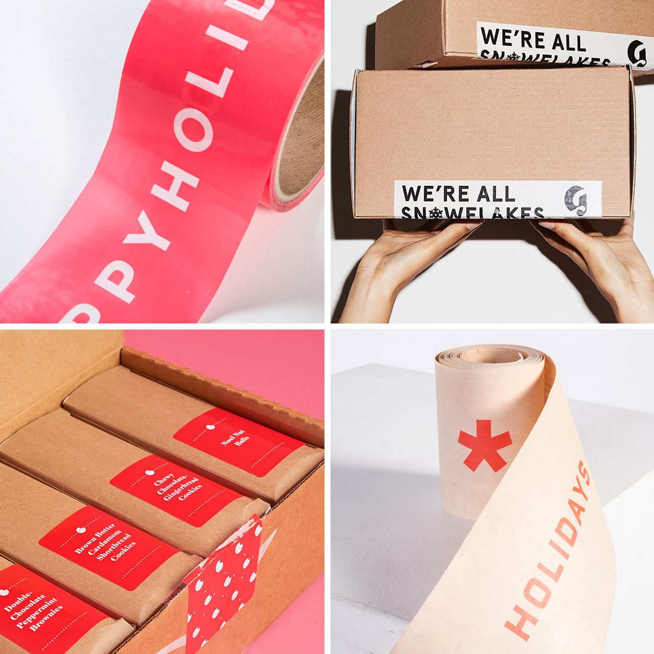 Photos via: Lumi, Glossier, My Subscription Addiction 90 Ideas to Spruce Up Your Holiday Packaging Design