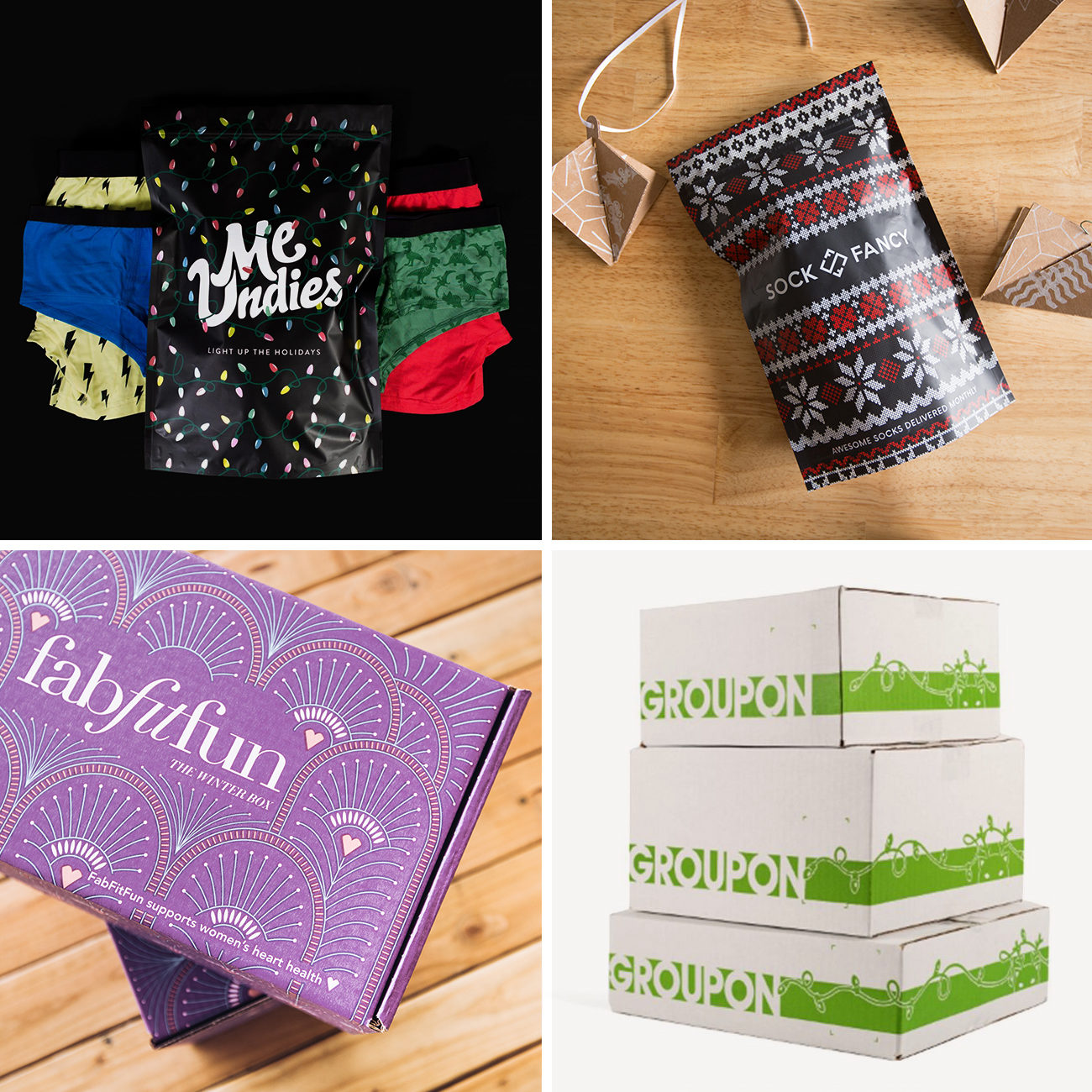 Photos via: Glossier, Lumi, and Brittany Campbell 90 Ideas to Spruce Up Your Holiday Packaging Design
