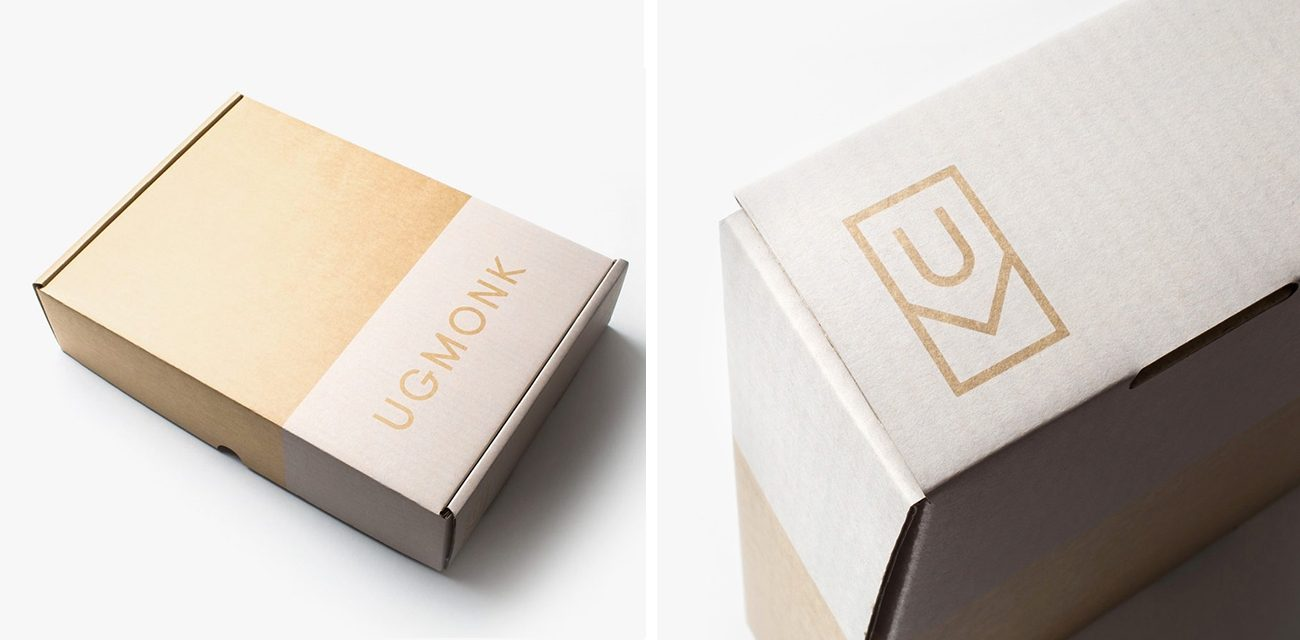 Ugmonk The Color Scheme Suited for Almost Any Brand: White on Kraft