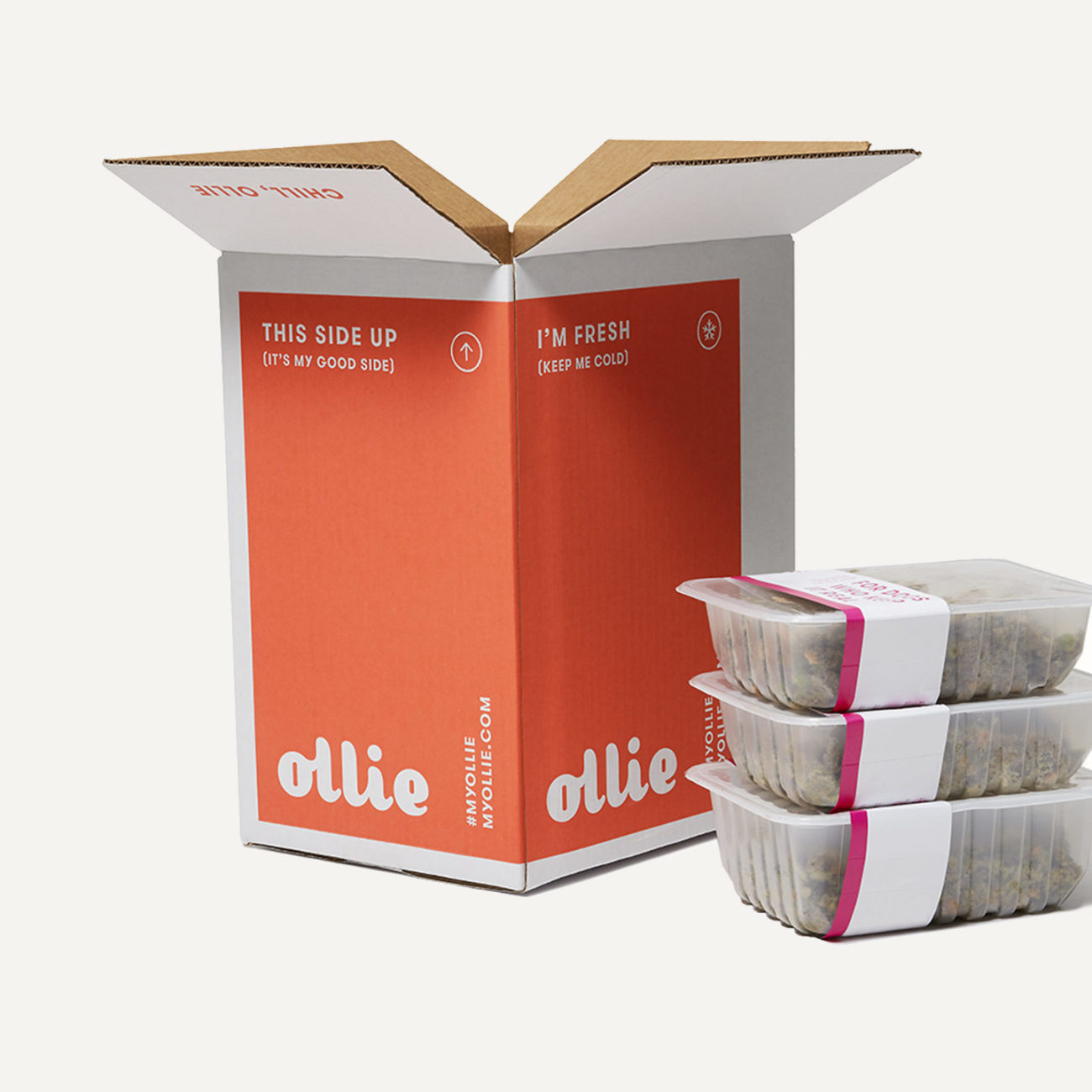 Ollie switched to reusable containers and scoops in first-time orders that can be reused for years Release Notes: 7 New Sustainability Properties to Reduce and Reuse Packaging