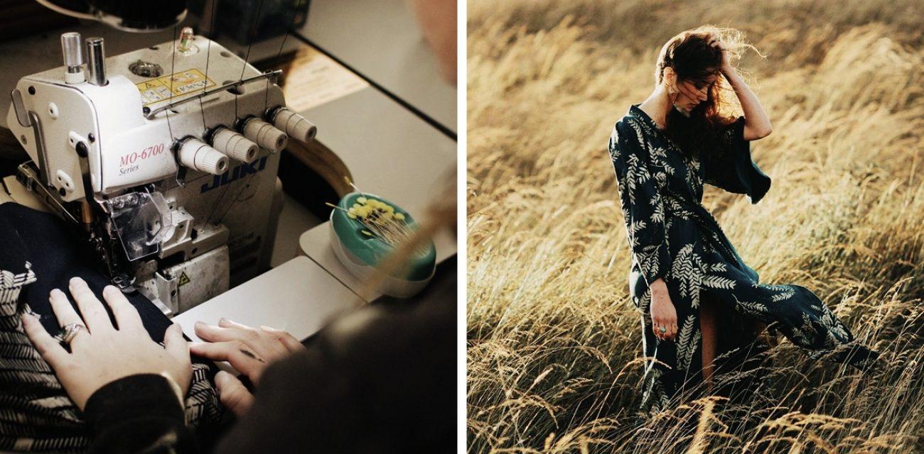 Simka Sol's Handmade Fashion Gets the Custom Packaging it Deserves