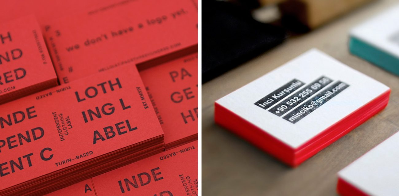 Make it Official: 6 Ways to Make Stamped Business Cards - Lumi Blog