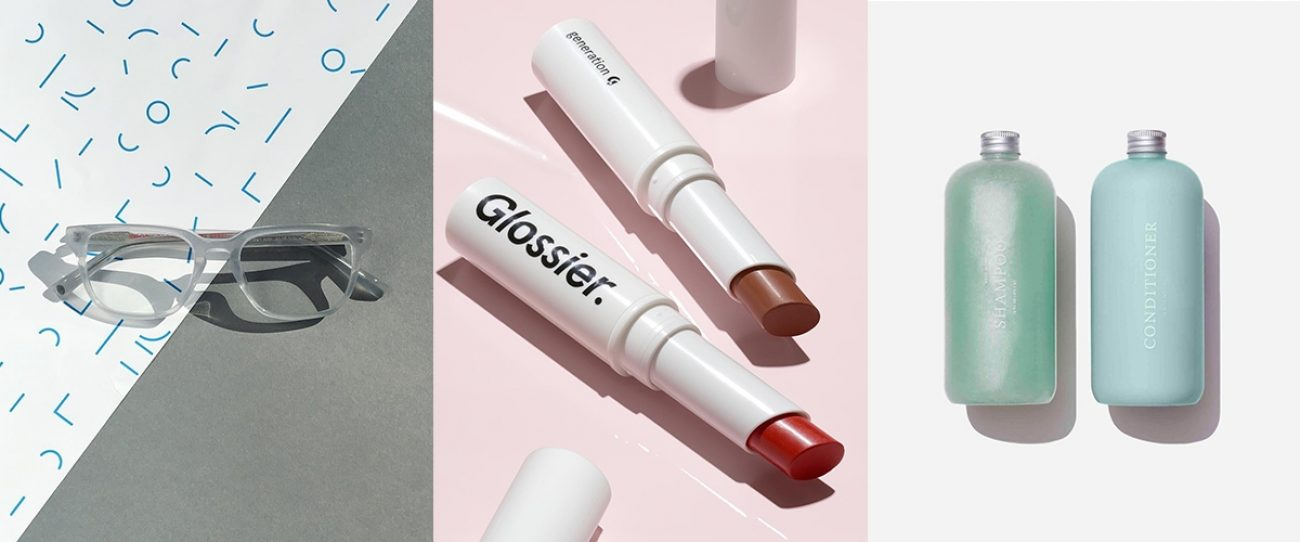 Three generations of VCBs: Warby Parker, Glossier, and Function of Beauty Leveling Out and Narrowing In