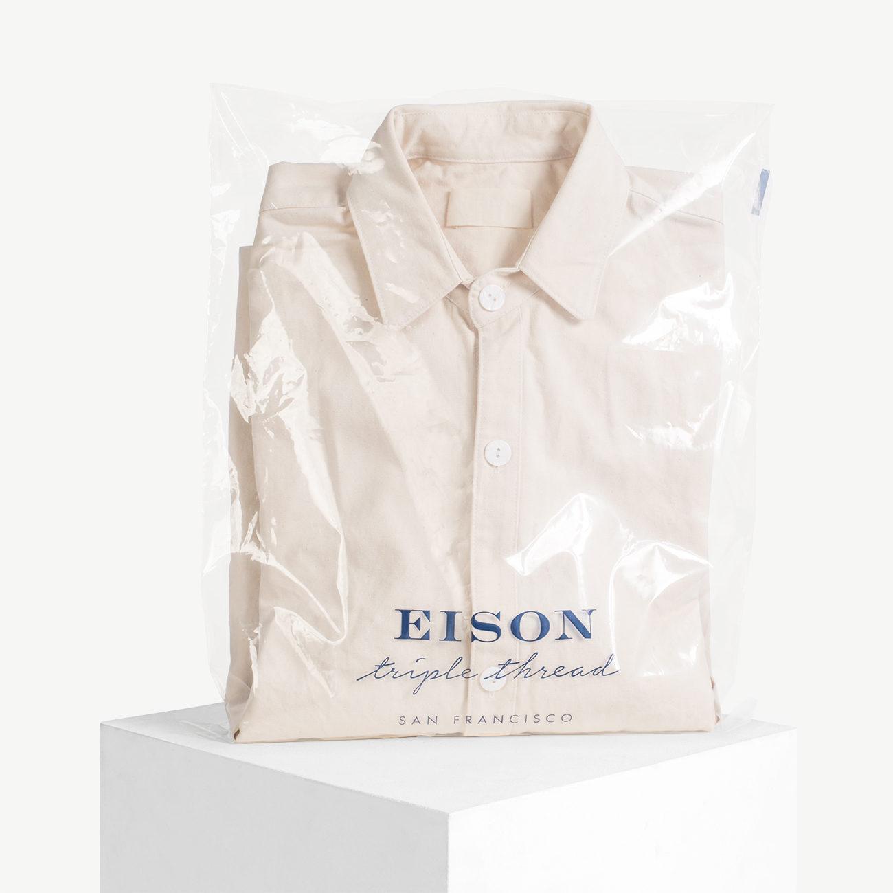 Custom peel and seal bag on pvc film, ldpe film.