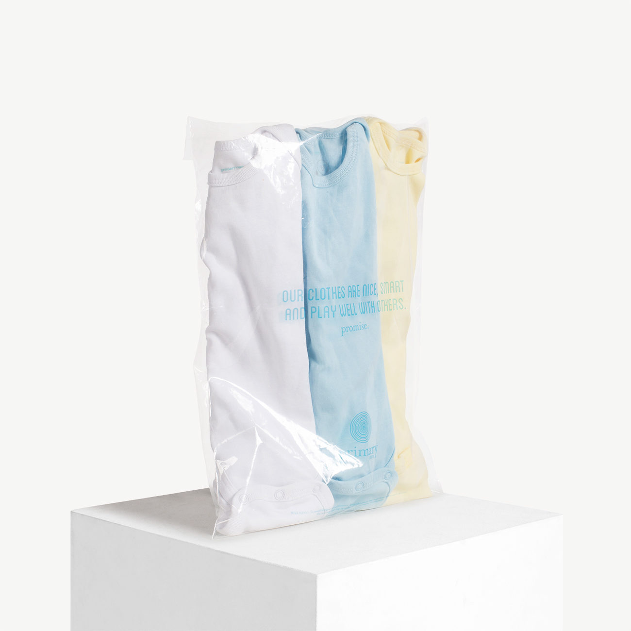 Custom peel and seal poly bag on pvc film, ldpe film.