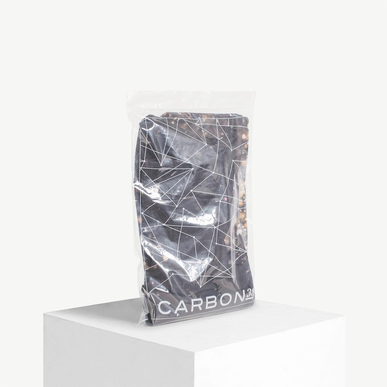 Custom zip top poly bag on pvc film, ldpe film.