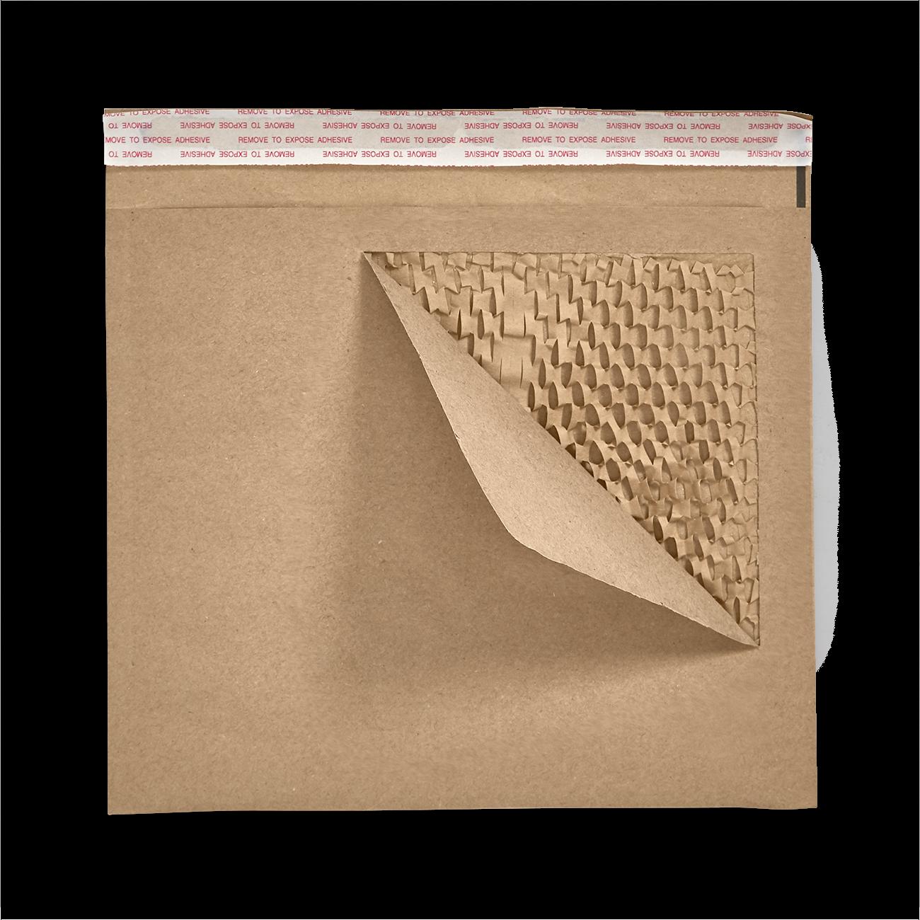 Custom honeycomb paper padded mailer