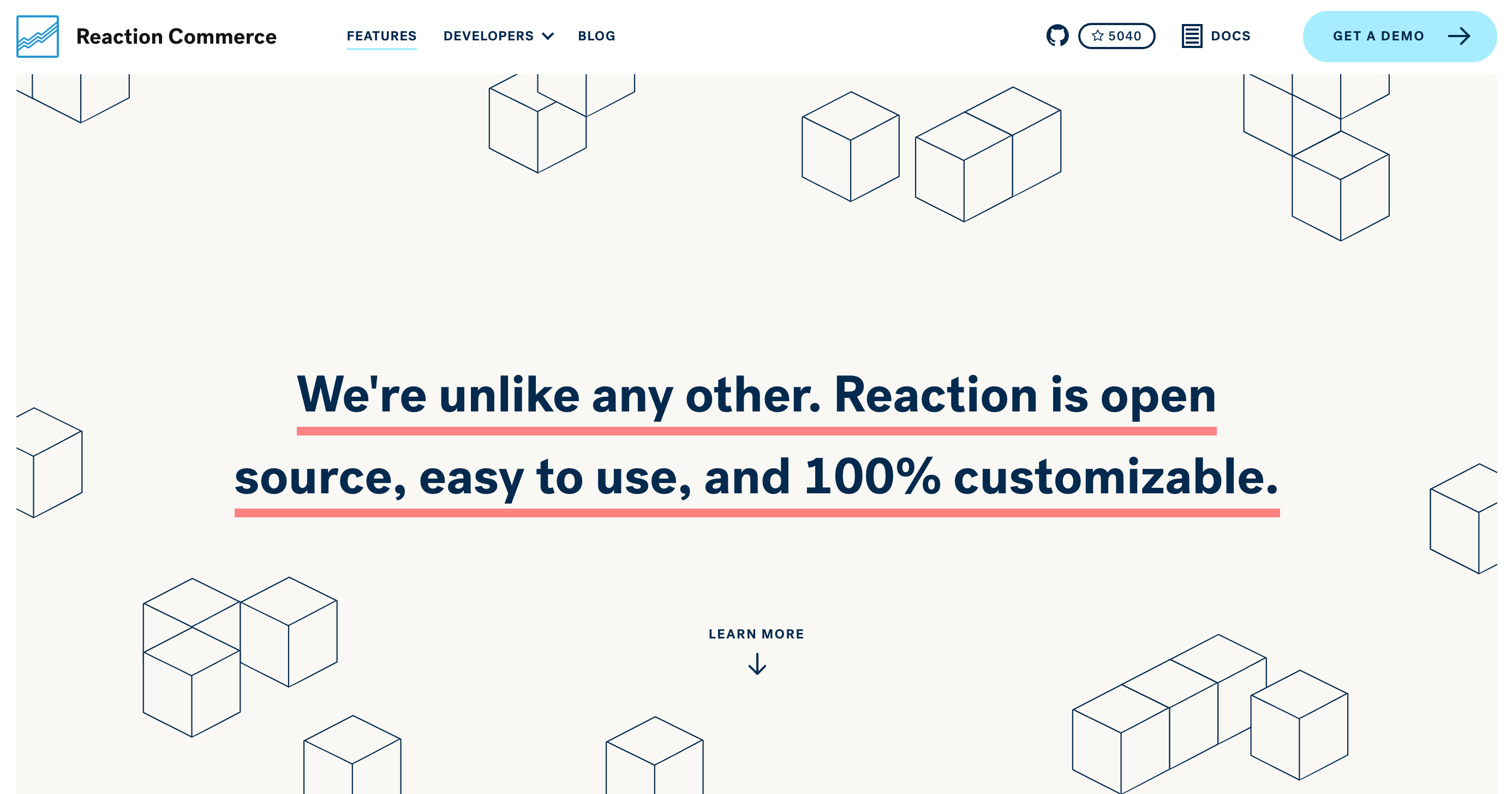 Reaction Commerce Wellmade