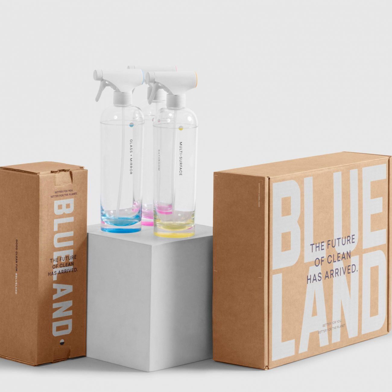 Blueland uses Lumi Services to engineer their corrugated packaging.  Changing Consumer Behavior