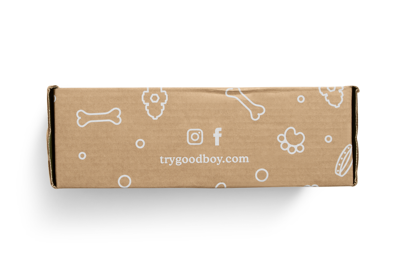 Custom roll end tuck front corrugated mailer box with roll end base, tuck front lid, cherry locks, dust flaps. Flexography on natural kraft liner, mottled white liner.