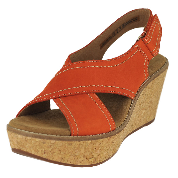Clarks Aisley Tulip Ankle Velco Strap