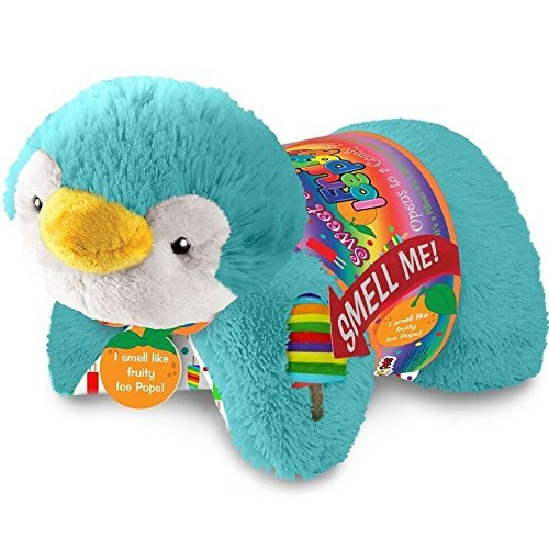 Pillow Pets Sweet Scented Ice Pop Penguin Stuffed Animal Plush Toy
