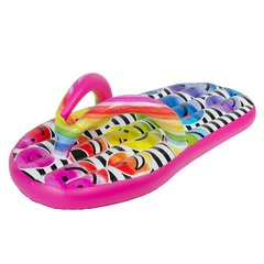 3C4G Emojipatch Flipflop Pool Float 69 In Tall X 33 In Wide