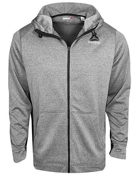 Reebok Wor Poly Fleece Full Zip Jacket