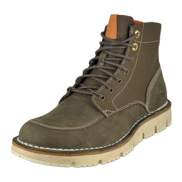 Timberland Westmore Leather Fabric Boot Lace-Up Boots