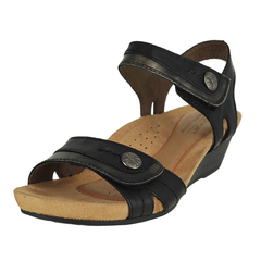 Rockport Cobb Hill Collection Hollywood 2 Piece Sandal Ankle Velco Strap