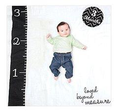 Lulujo Baby Baby's Firstyear Blanket/Cards 40 In X 40 In