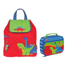 Stephen Joseph Lunch Box & Quilted Backpack Lunch Box & Backpack