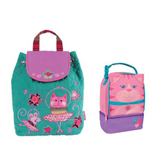 Stephen Joseph Lunch Pals & Quilted Backpack Lunch Box & Backpack