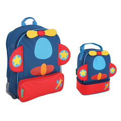 Stephen Joseph Lunch Pals  Sidekicks Backpack Lunch Box & Backpack