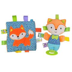 Taggies Crinkle Me Fox & Squeaker Fox Toys