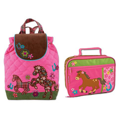 Stephen Joseph Lunch Box & Signature Backpack Lunch Box & Backpack