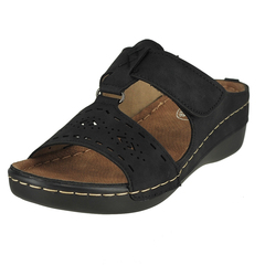 Soft Comfort Band Leader Wedge Sandals