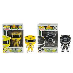 Funko Power Rangers Yel & Blk Ranger Pop Television