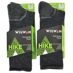 Wigwam F2300 Marino Lite Hiker 2-Pack Crew Sock