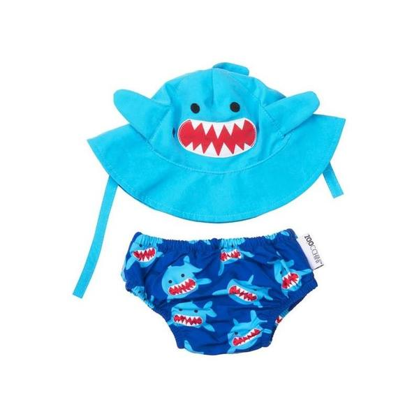 Zoocchini Swim Diaper & Sun Hat Swim Set