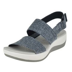 Clarks Arla Jacory Ankle Hook And Loop Strap