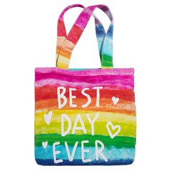 3C4G Best Day Ever Canvas Tote Tote