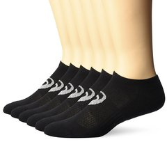 Asics Invasion No-Show 6-Pack Socks Running Socks