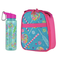 3C4G Lunch Cooler And Water Bottle Lunch Cooler & Water Bottle