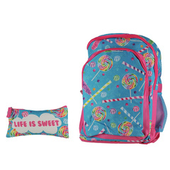 3C4G Backpack& Pencil Cosmetic Case Backpack/ Pencil Cosmetic Case