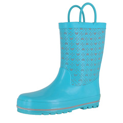 Western Chief Quilted Hearts Reflective Rain Boots