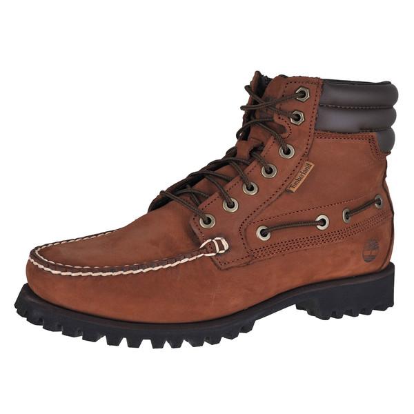 Timberland Oakwell 7 Eye Moc Toe Ankle Hi Boot
