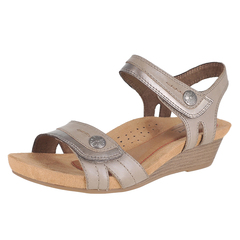 Rockport Cobb Hill Collection Hollywood 2 Pc Sandal Hook And Loop Straps