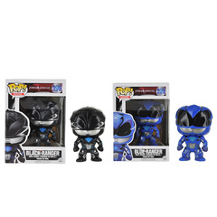 Funko Black Ranger & Blue Ranger Pop Movies